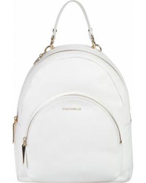 Белый рюкзак Coccinelle