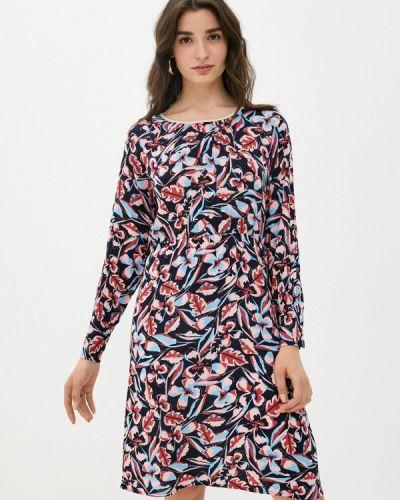 Синее повседневное платье W.sharvel