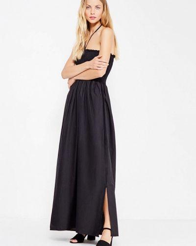 Черное платье макси Care Of You