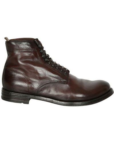 Ankle boots - brązowe Officine Creative