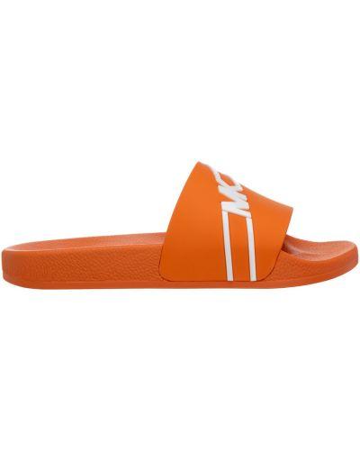 Kapcie - pomarańczowe Michael Kors