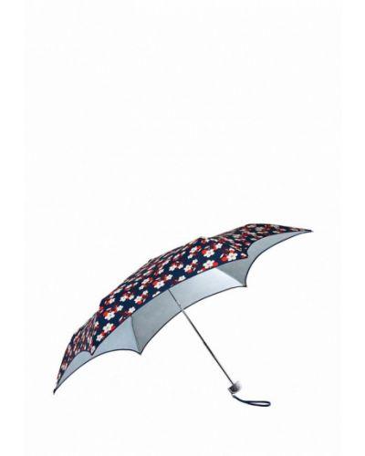 Синий зонт складной Fulton