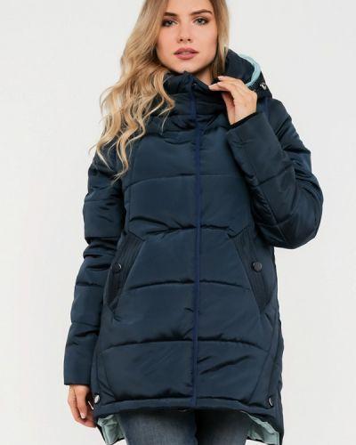 Зимняя куртка осенняя синий Modniy Oazis