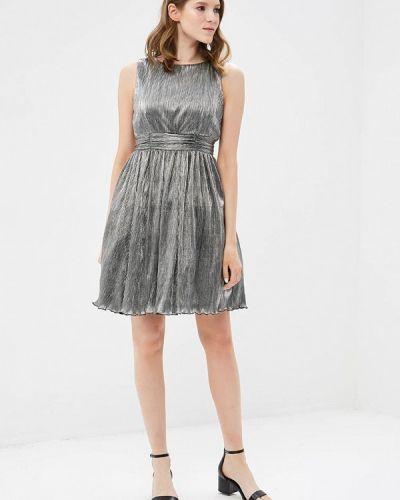 Платье весеннее серебряного цвета Tantra