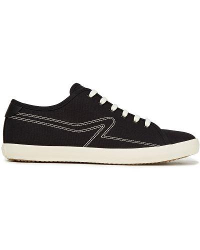 Czarne sneakersy skorzane sznurowane Rag & Bone