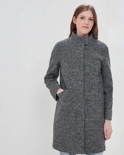 Серое пальто демисезонное La Reine Blanche