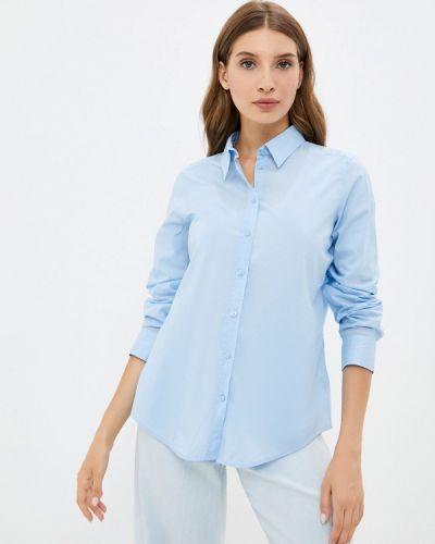 Голубая рубашка осенняя United Colors Of Benetton