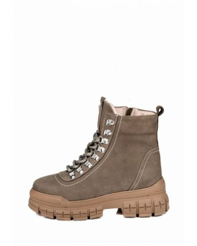 Высокие ботинки - бежевые My Day