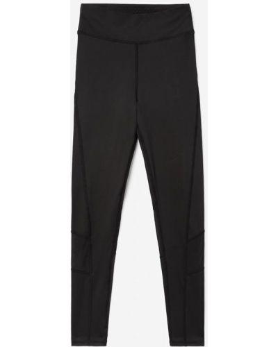Джинсовые черные спортивные леггинсы Gloria Jeans