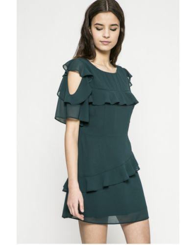 Платье мини прямое с разрезом Answear