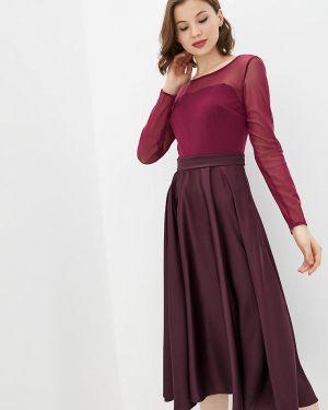 Вечернее платье - красное Jhiva