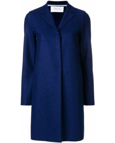 Длинное пальто на кнопках классическое до колен Harris Wharf London