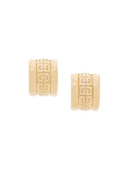 Серьги-кольца Givenchy Pre-owned