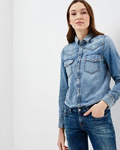 Синяя джинсовая рубашка Diesel