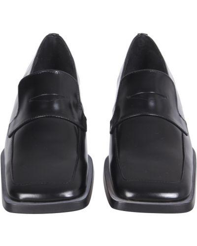 Czarne loafers Miista