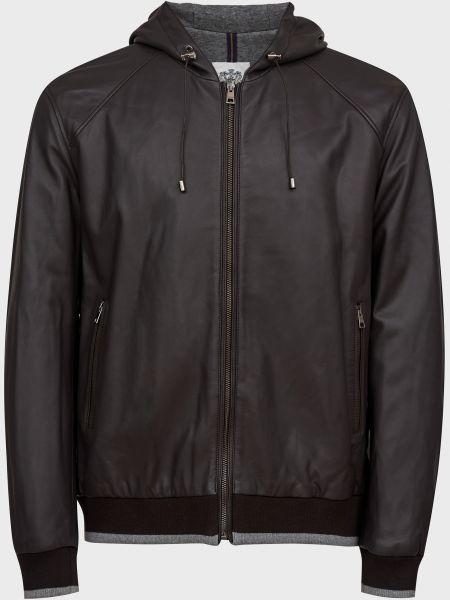 Кашемировая куртка - коричневая Gallotti