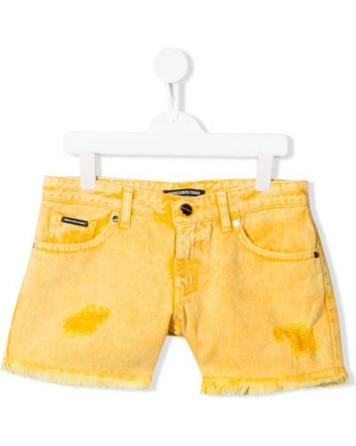 Желтые шорты Marco Bologna Kids