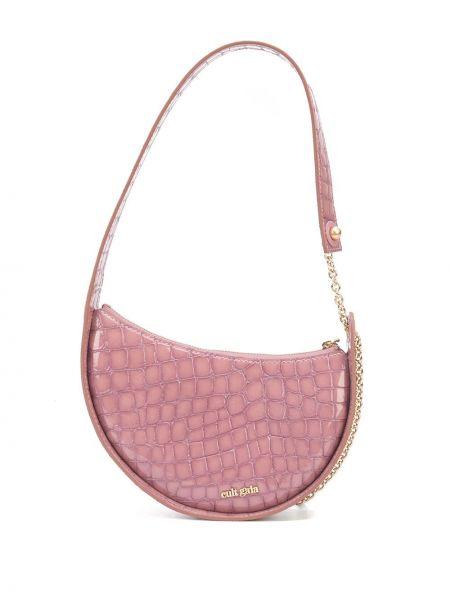 Кожаная сумка - фиолетовая Cult Gaia