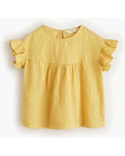 Блуза индийский желтый Mango Kids