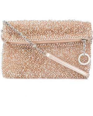 Розовая сумка на цепочке Anteprima