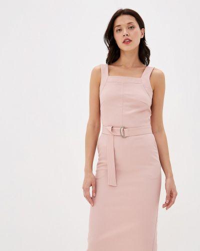 Платье футляр розовое Annborg