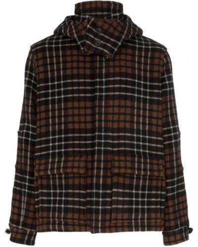 Куртка с капюшоном в клетку Lou Dalton