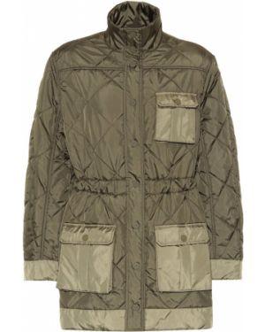 Стеганая куртка с опушкой куртка-жакет Ganni