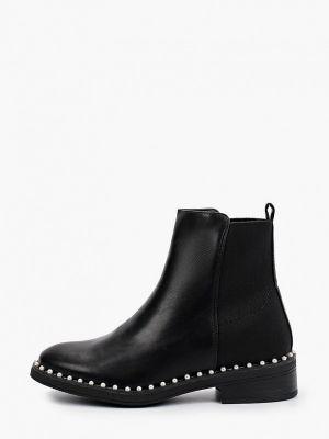 Черные высокие ботинки Marquiiz