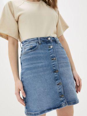 Джинсовая юбка - голубая Jacqueline De Yong