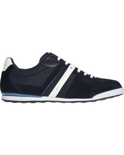 Текстильные кроссовки - синие Hugo Boss