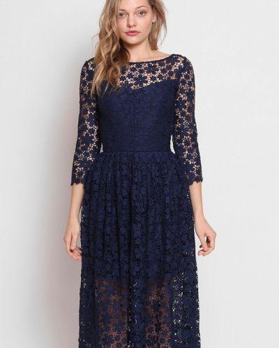 Платье весеннее синее Roussin