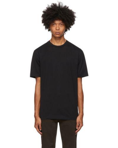 Z koszulką bawełna koszula z logo na niskim poziomie Acne Studios