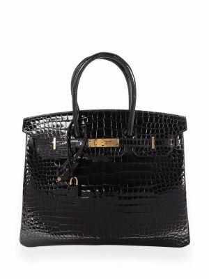 Черная сумка футляр Hermès