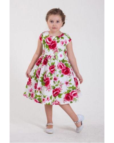 С рукавами платье с поясом с сеткой Lp Collection