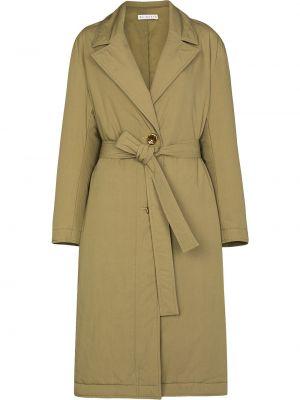 Зеленое хлопковое пальто Rejina Pyo