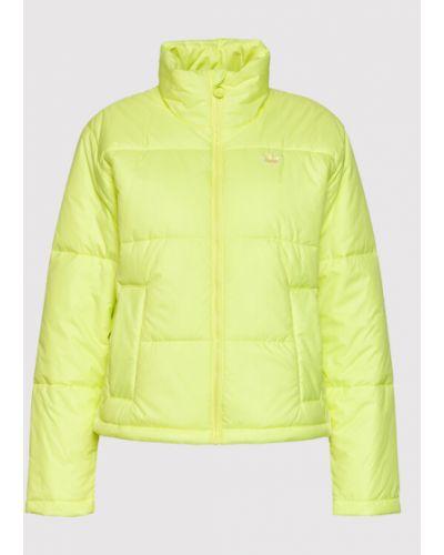 Kurtka puchowa - żółta Adidas
