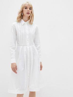 Платье рубашка - белое Paul & Joe