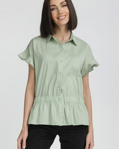 Блузка - зеленая Gloss