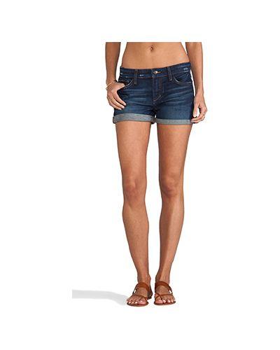 Хлопковые джинсы с отворотом Joe's Jeans
