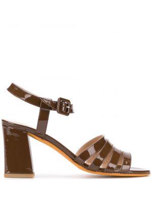 Sandały skórzany ciemny Maryam Nassir Zadeh
