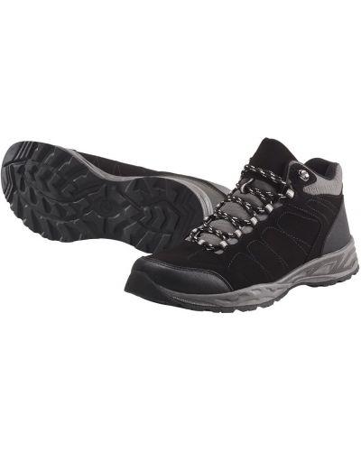Легкие ботинки трекинговые - черные Livergy