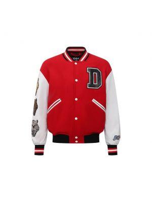 Красная шерстяная куртка Diesel