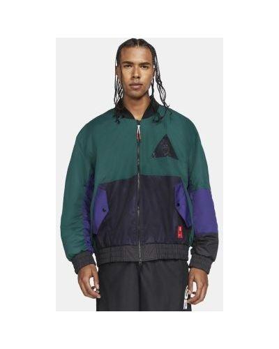 С рукавами стеганая куртка на молнии Nike