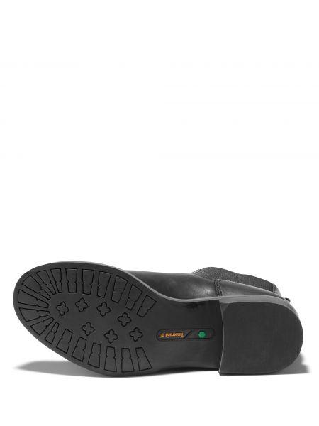 Кожаные черные ботинки челси с подкладкой Timberland