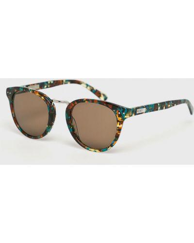 Солнцезащитные очки кошачий глаз стеклянные Roxy