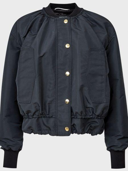 Черная куртка на молнии Rochas