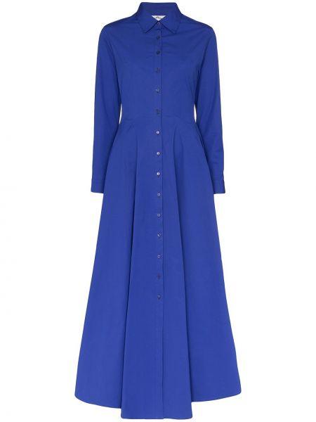 Приталенное классическое платье мини с оборками на пуговицах Evi Grintela