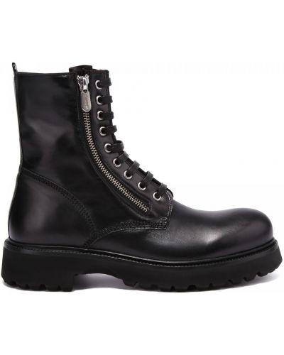Кожаные ботинки круглые закрытые Rocco P.