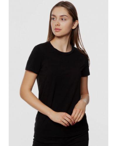 Черная футболка с короткими рукавами Arber