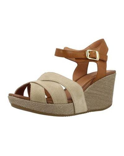 Brązowe sandały Stonefly